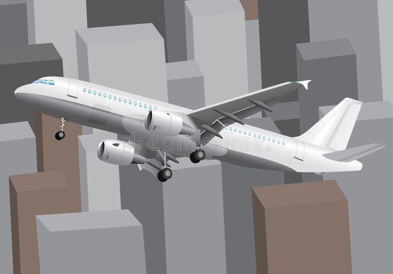 Viaggio di affari illustrazione vettoriale