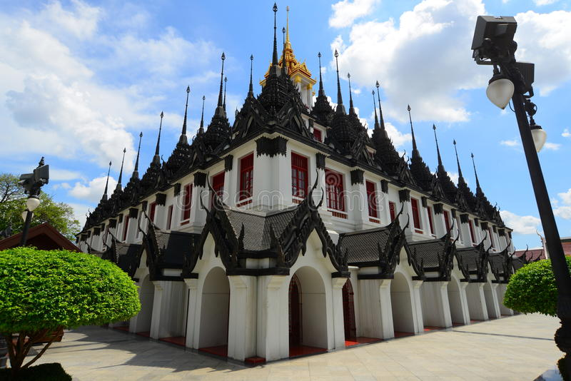 Viaggio di arte del wat del tempio della Tailandia immagini stock libere da diritti