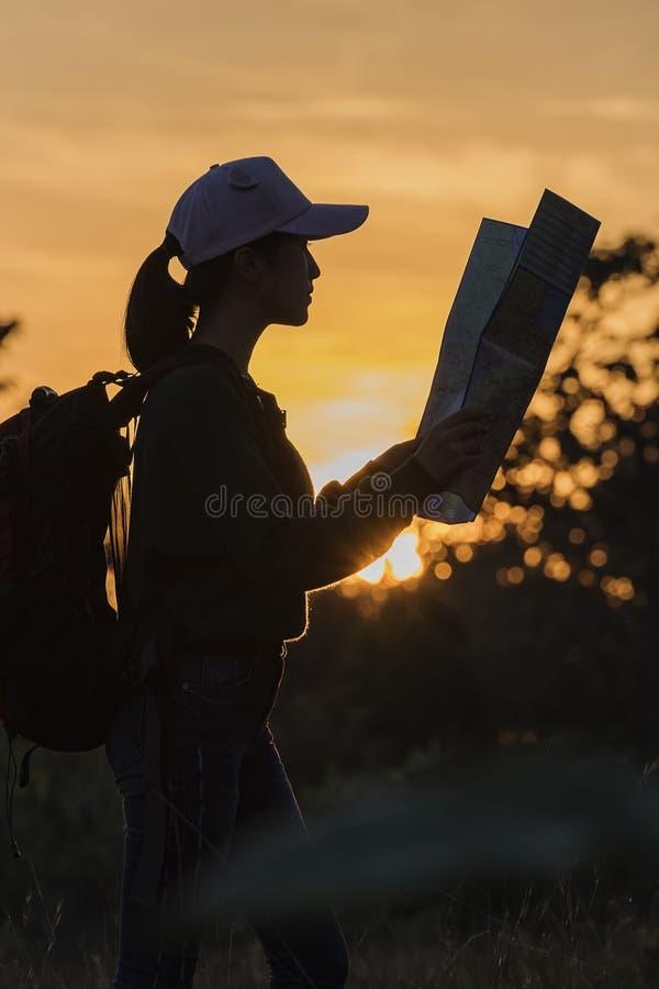 Viaggio di avventura fotografia stock