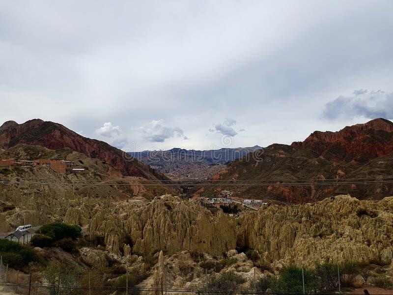 Viaggio di Bolivie immagini stock libere da diritti