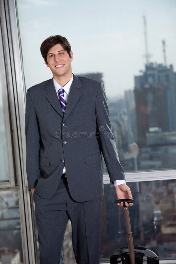 Viaggio di Heading For Business dell'uomo d'affari immagini stock
