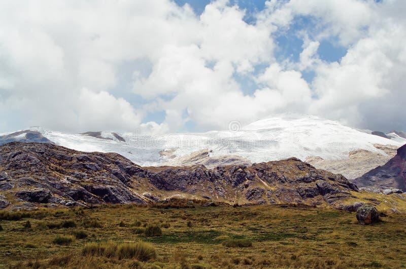 Viaggio di Huayhuash, Perù fotografie stock