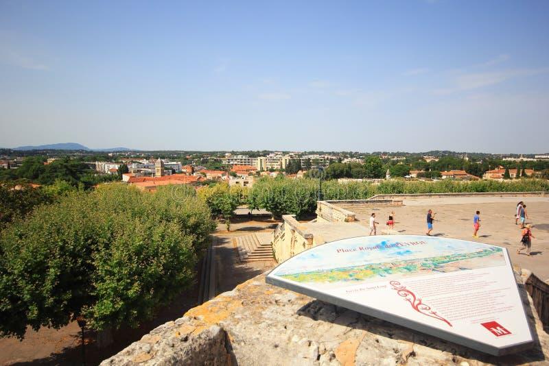 Viaggio di Montpellier fotografie stock