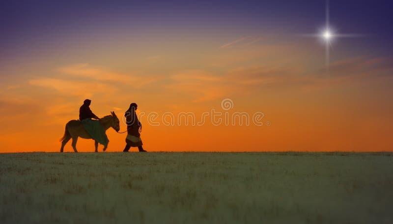 Viaggio di natale fotografia stock libera da diritti