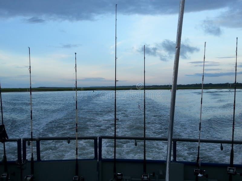 Viaggio di pesca fotografia stock libera da diritti