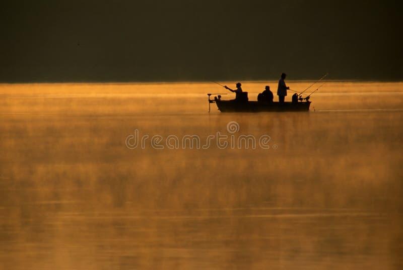 Viaggio di pesca fotografie stock libere da diritti