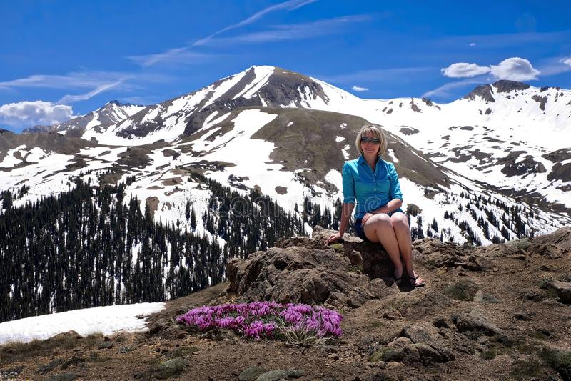 Viaggio di vacanza in Colorado fotografie stock