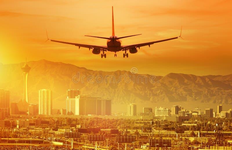 Viaggio di vacanza a Las Vegas immagini stock libere da diritti