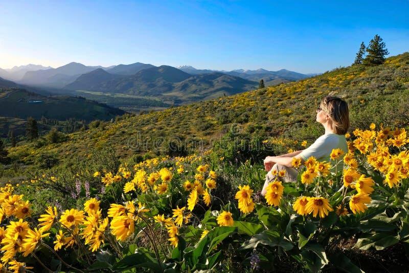 Viaggio di vacanza in Washington State fotografia stock