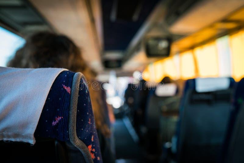 Viaggio Firenze del bus fotografia stock