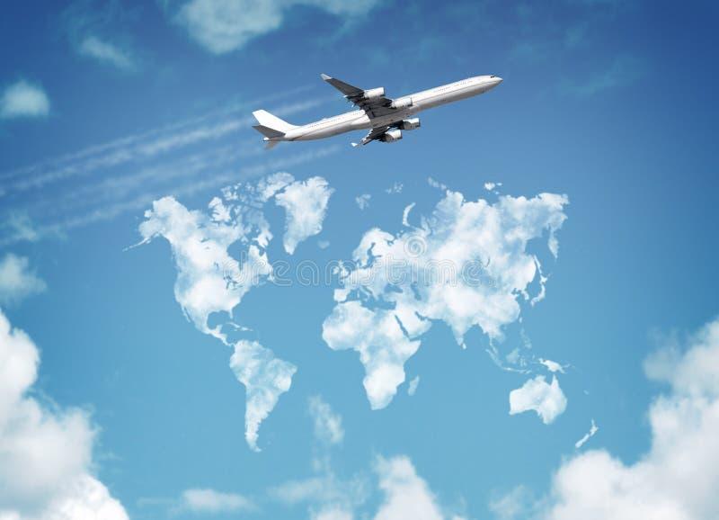 Viaggio intorno al mondo fotografia stock libera da diritti