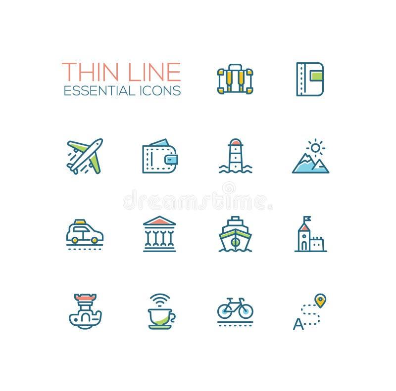 Viaggio - linea icone messe
