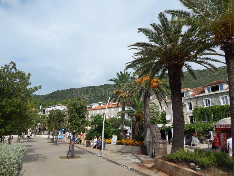 Viaggio nel Montenegro sul mare adriatico fotografia stock