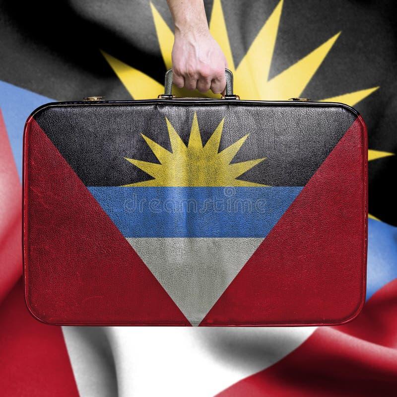 Viaggio nell'Antigua e Barbuda immagine stock libera da diritti