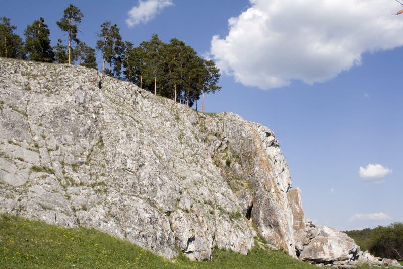 Viaggio nelle montagne di Urals immagine stock libera da diritti