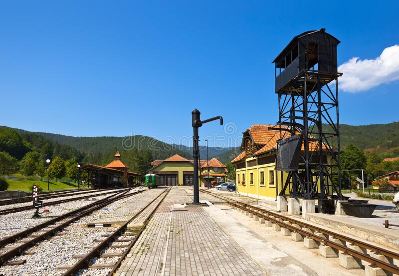 Viaggio a Sarganska Osmica Shargan otto - Serbia immagine stock libera da diritti
