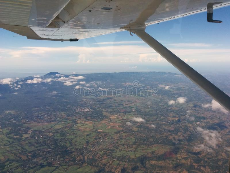 Viaggio sopra il Guatemala fotografia stock libera da diritti