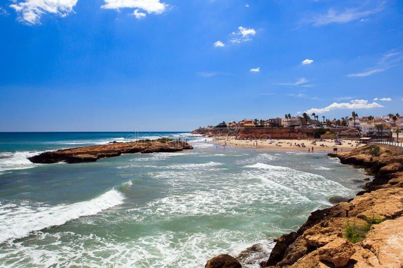 Viaggio in Spagna su Costa Blanca fotografia stock