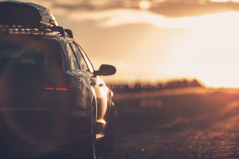 Viaggio stradale di vacanze estive fotografia stock libera da diritti