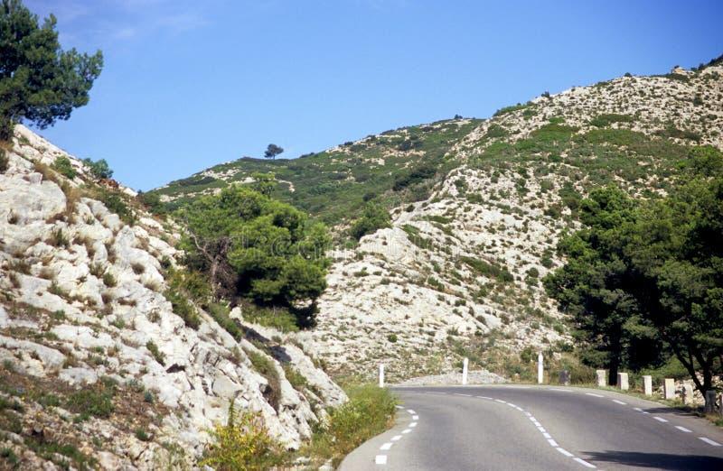 Viaggio stradale in Francia fotografie stock