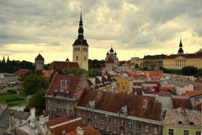 Viaggio a Tallinn fotografia stock