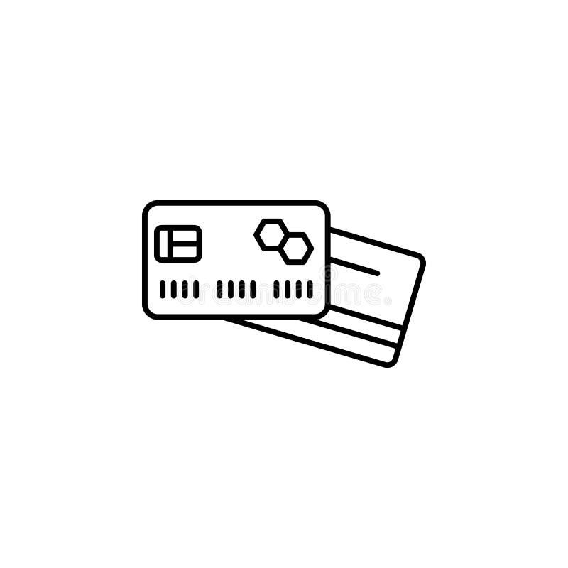 Viaggio, tazza, icona del profilo del cacao Elemento dell'illustrazione di viaggio I segni e l'icona di simboli possono essere us illustrazione di stock