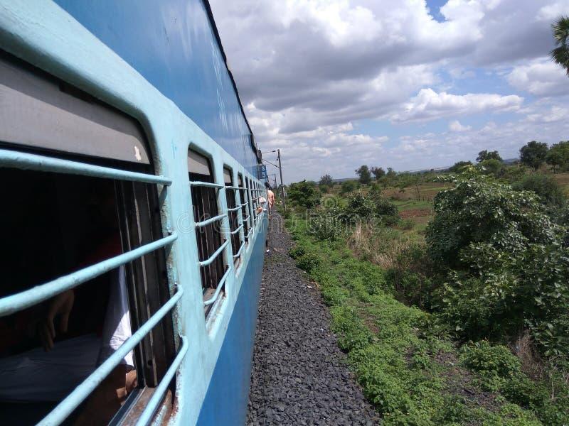 Viaggio in treno immagine stock libera da diritti