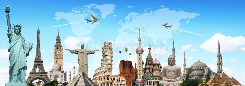 Viaja o conceito dos monumentos do mundo