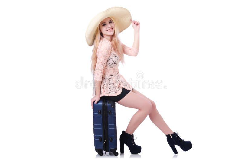 Viajante da rapariga imagens de stock royalty free