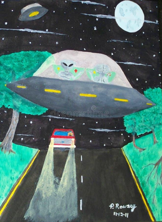 Viajantes da estrela ilustração royalty free