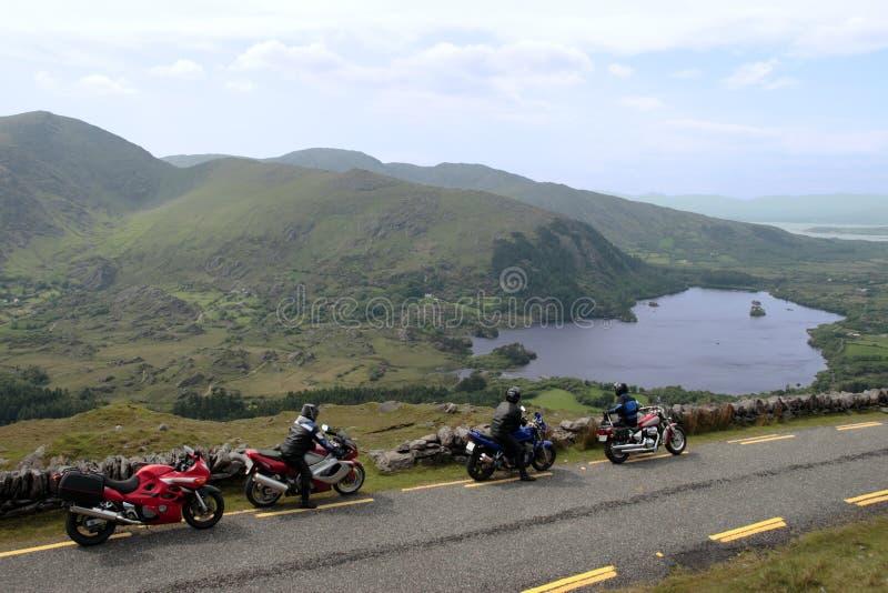 Viaje 2 de la moto imagen de archivo