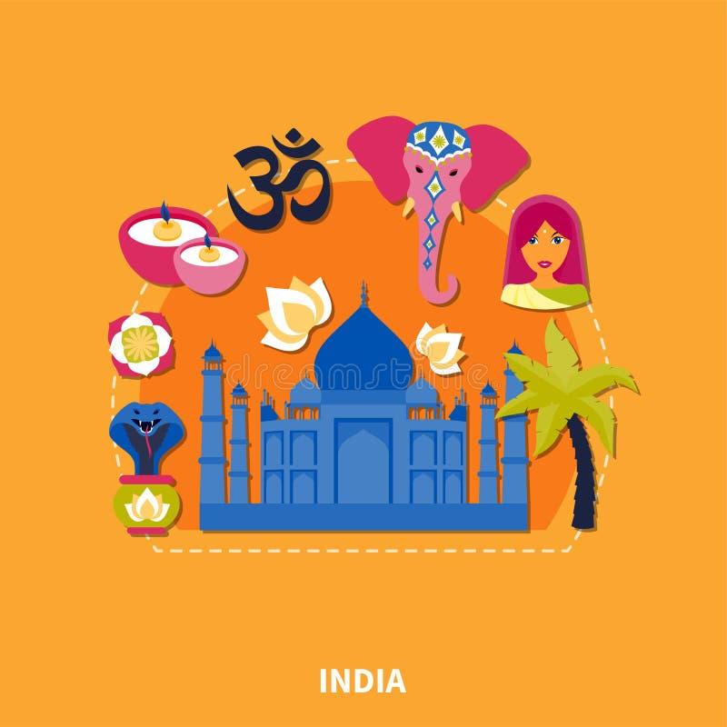 Viaje al fondo de la India libre illustration