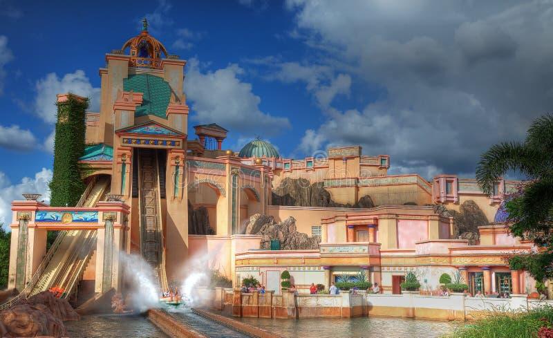 Viaje a Atlantis imágenes de archivo libres de regalías