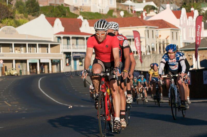 Viaje Ciudad del Cabo del ciclo de Argus 2010 imagen de archivo libre de regalías