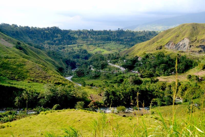 Viaje de Bukidnon fotos de archivo