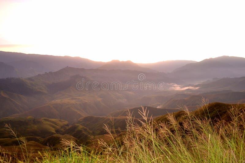 Viaje de Bukidnon imagen de archivo libre de regalías