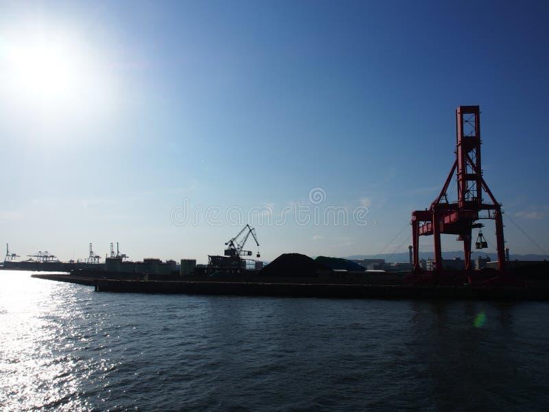 Viaje de Japón de la opinión de la travesía de la bahía fotografía de archivo