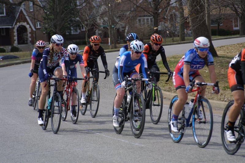 Viaje de la raza 2019 del circuito del St Louis- Carondelicious XIII fotos de archivo