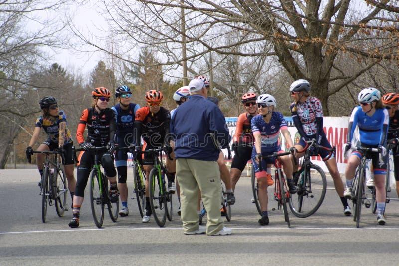 Viaje de la raza 2019 del circuito del St Louis- Carondelicious XXII imagenes de archivo