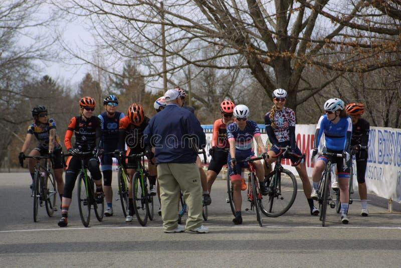 Viaje de la raza 2019 del circuito del St Louis- Carondelicious XXIV imagenes de archivo