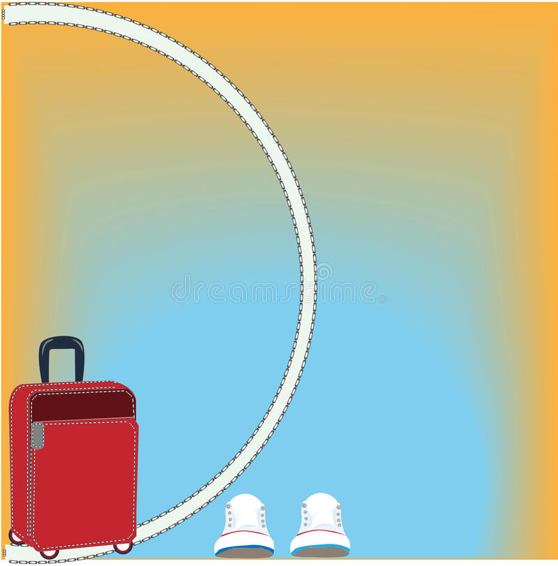 Download Viaje de las vacaciones stock de ilustración. Ilustración de viaje - 42425790