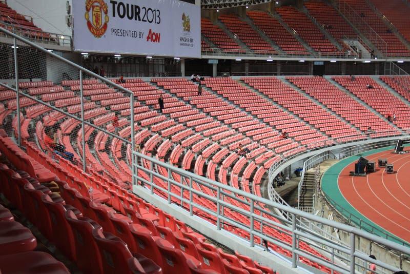 Viaje 2013 de Tailandia del Manchester United imagen de archivo