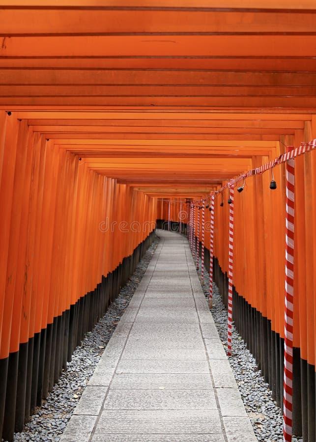 Viaje de Torii fotos de archivo