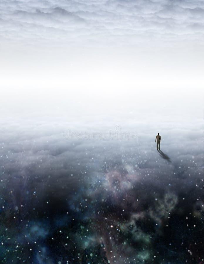 Viaje del alma libre illustration