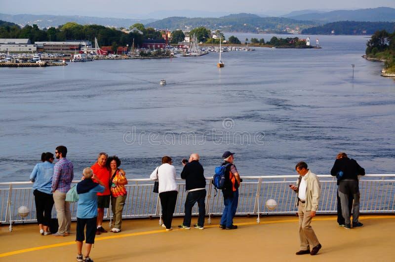 Download Viaje Del Barco De Cruceros, Langesund, Noruega Fotografía editorial - Imagen de océano, europeo: 44854972