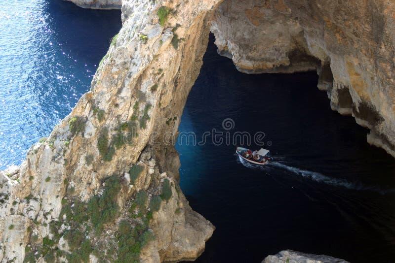 Viaje del barco en Malta fotos de archivo libres de regalías
