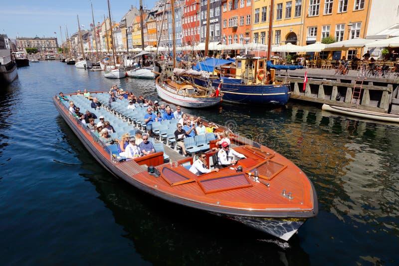 Viaje del canal de Copenhague imagen de archivo libre de regalías