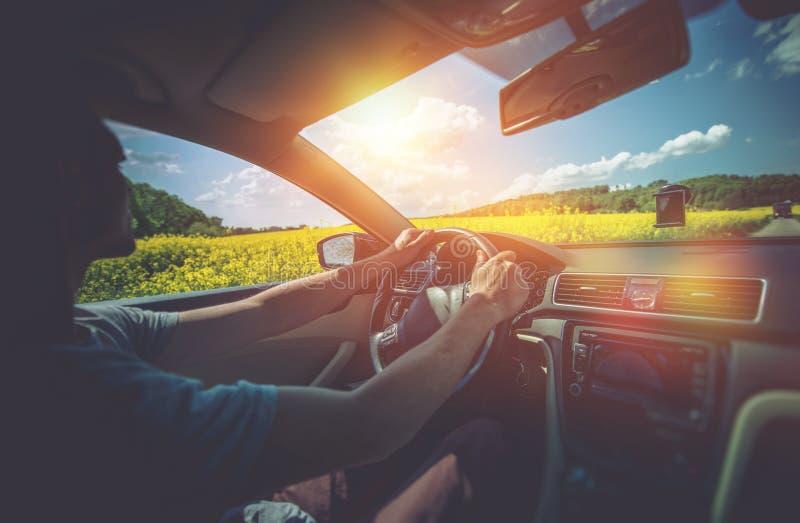Viaje del coche del verano fotos de archivo libres de regalías