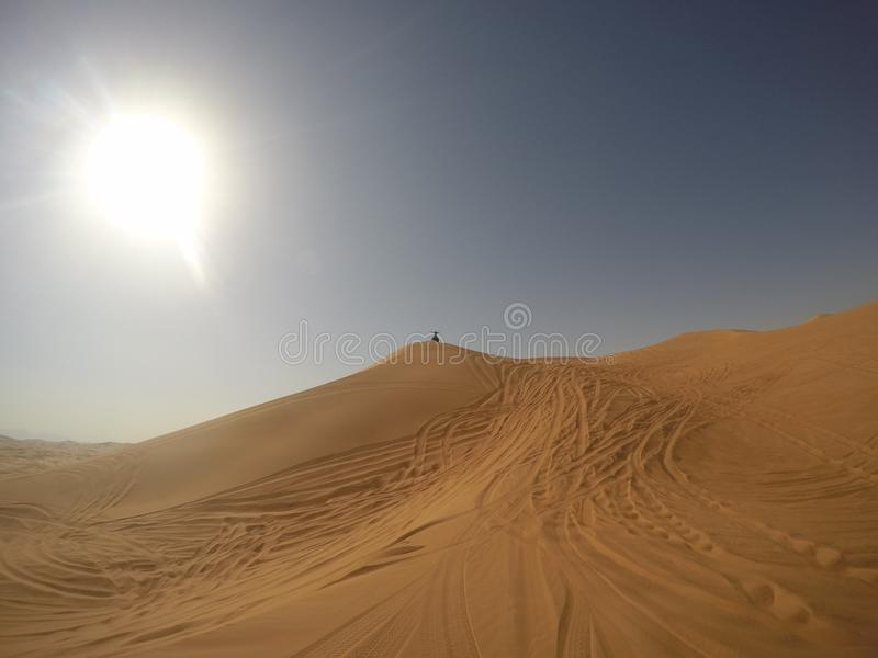 Viaje del desierto fotos de archivo