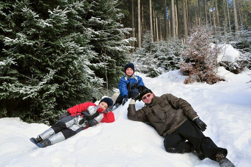 Viaje del invierno imagenes de archivo